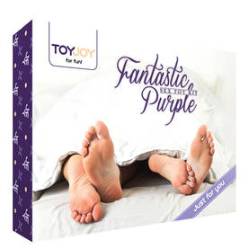 Fantastic Purple Sex Toy Kit - Seksitarvikkeet ja sisustus - 8713221434784 - 1