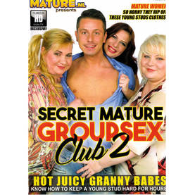 Seksifilmi Secret Mature Groupsex Club 2 - MILF & Granny - 4048829380718 - 1